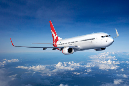 "Qantas ""Spirit of Australia"" 737-800 with Winglets ArtworkK64241"